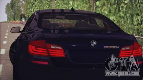 BMW M550d 2014 for GTA San Andreas left view