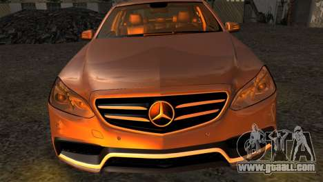 Mercedes-Benz E63 AMG 2014 for GTA San Andreas right view
