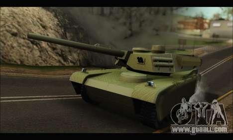 Retextured Rhino Tank for GTA San Andreas