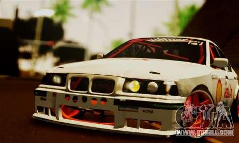BMW M3 E36 Darnitsa Bandits for GTA San Andreas right view