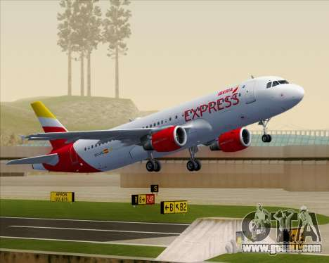 Airbus A320-200 Iberia Express for GTA San Andreas