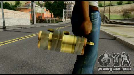 TNT from Metal Gear Solid for GTA San Andreas third screenshot