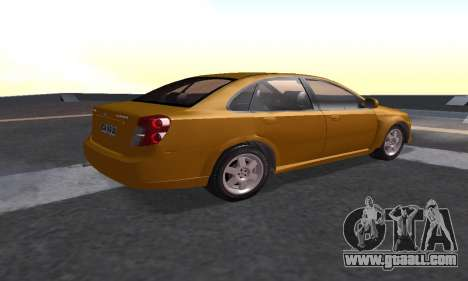 Chevrolet Lacetti for GTA San Andreas left view