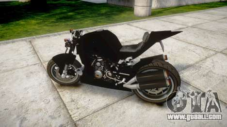 KTM 1190 RC8 StreetFight for GTA 4 left view
