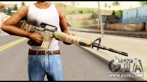 M16 from Metal Gear Solid for GTA San Andreas third screenshot