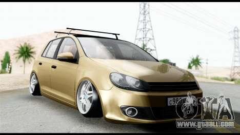 Volkswagen Golf 6 for GTA San Andreas