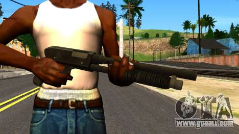 Combat Shotgun from GTA 4 for GTA San Andreas third screenshot