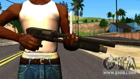 Combat Shotgun from GTA 4 for GTA San Andreas third screenshot