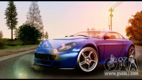 GTA 5 Dewbauchee Rapid GT Coupe [HQLM] for GTA San Andreas