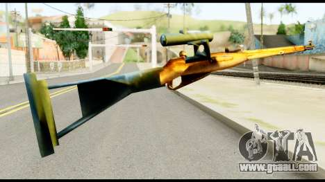 Mosin Nagant from Metal Gear Solid for GTA San Andreas second screenshot