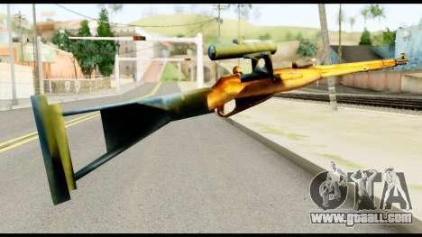 Mosin Nagant from Metal Gear Solid for GTA San Andreas second screenshot