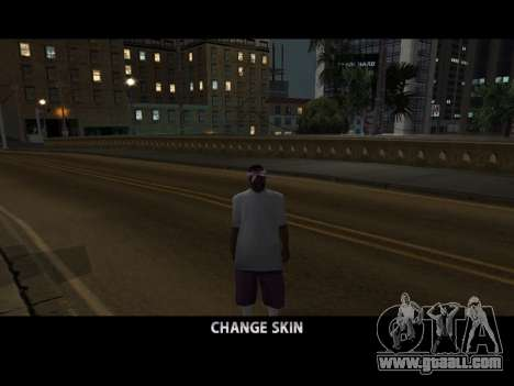 Skin Changer for GTA San Andreas forth screenshot
