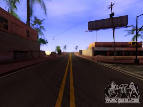 Improved texture of roads for GTA San Andreas second screenshot