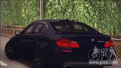 BMW M550d 2014 for GTA San Andreas right view