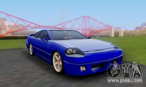 New Alpha for GTA San Andreas right view