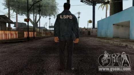 Police Skin 4 for GTA San Andreas second screenshot