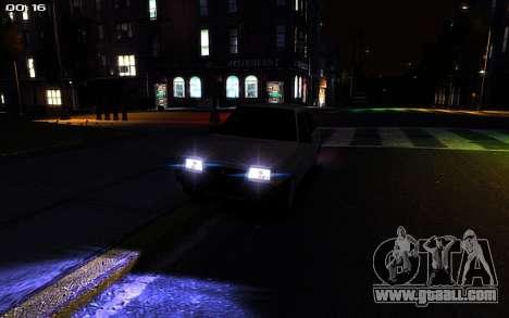 VAZ 2109 for GTA 4 back view