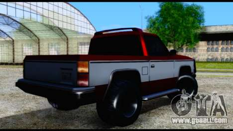 Rancher Hunter for GTA San Andreas left view