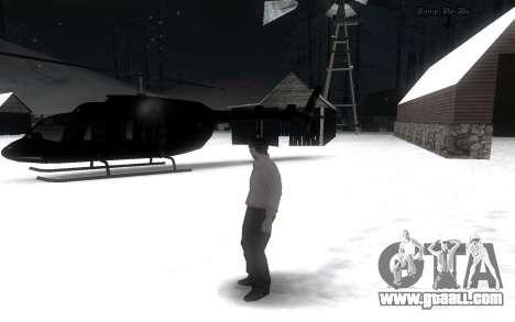 Snow Mod for GTA San Andreas second screenshot