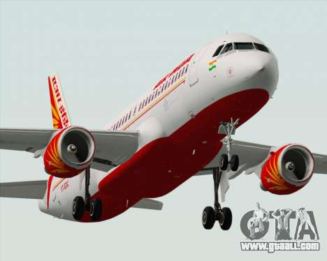 Airbus A320-200 Air India for GTA San Andreas engine