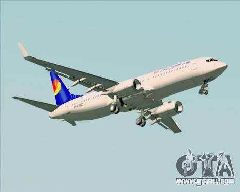 Boeing 737-800 Air Philippines for GTA San Andreas upper view