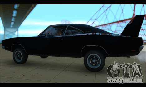 Dodge Charger RT for GTA San Andreas left view