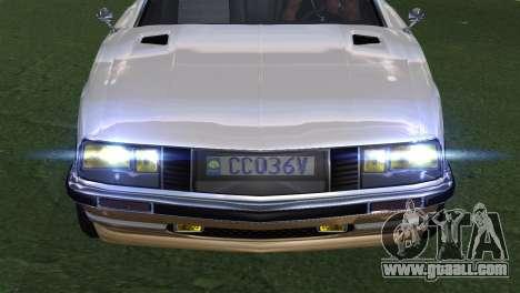 GTA 5 Lampadati Pigalle (IVF) for GTA San Andreas back view