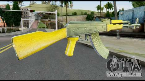 AK47 from Max Payne for GTA San Andreas second screenshot