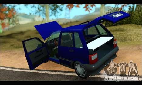 Zastava Yugo Uno for GTA San Andreas back view