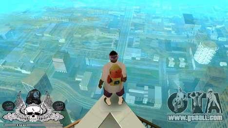 C-HUD Ghetto Camera for GTA San Andreas second screenshot