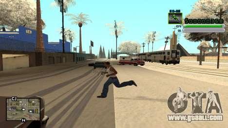C-HUD v5.0 for GTA San Andreas second screenshot