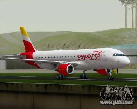 Airbus A320-200 Iberia Express for GTA San Andreas right view