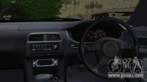 Nissan Silvia S14 Ks for GTA San Andreas back left view