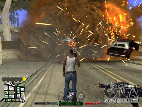 C-HUD v2.0 for GTA San Andreas third screenshot