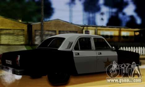 GAZ 3102 Volga - Sheriff for GTA San Andreas left view