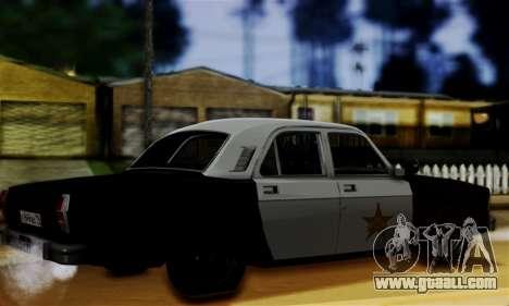 GAZ 3102 Volga - Sheriff for GTA San Andreas left view