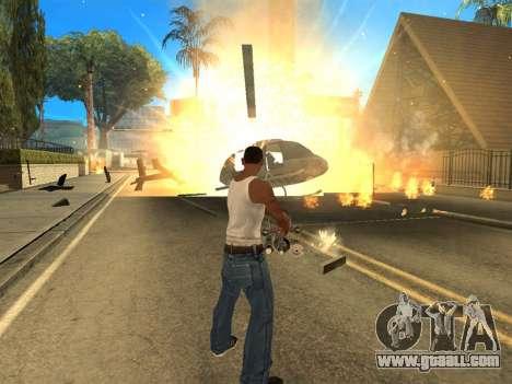 Overdose 1.6 New for GTA San Andreas