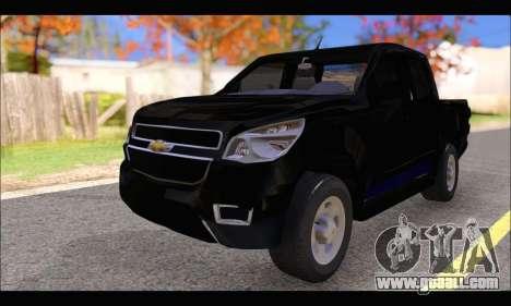 Chevrolet S10 LS 2014 for GTA San Andreas