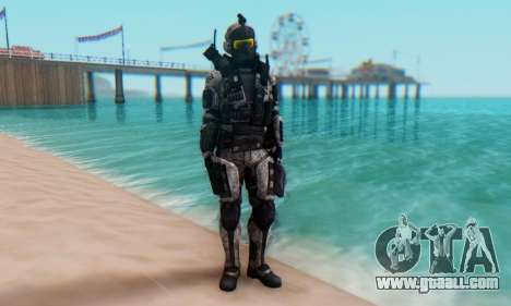 C.E.L.L. Soldier (Crysis 2) for GTA San Andreas second screenshot