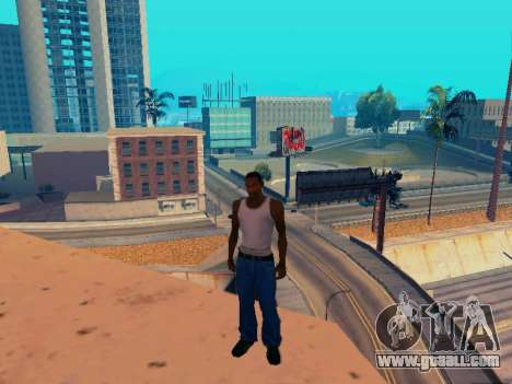 Graphic Mod Eazy v1.2 for weak PC for GTA San Andreas sixth screenshot