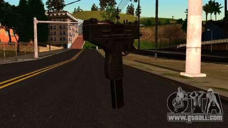 Micro SMG from GTA 4 for GTA San Andreas second screenshot
