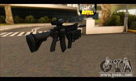 HK416 M320 Devgru for GTA San Andreas second screenshot