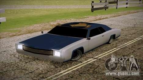 Buccaneer 2.0 for GTA San Andreas