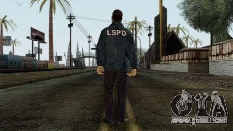 Police Skin 9 for GTA San Andreas second screenshot