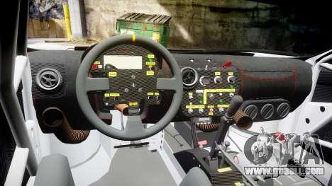 Ferrari F430 GT 2011 Pacific NAC Ikamusume for GTA 4 back view