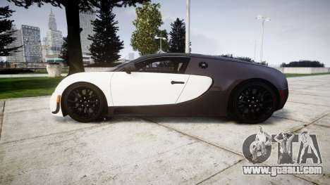 Bugatti Veyron 16.4 Super Sport [EPM] Carbon for GTA 4 left view