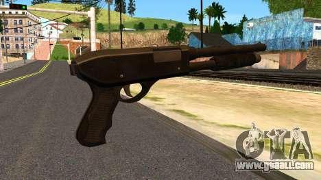Combat Shotgun from GTA 4 for GTA San Andreas second screenshot