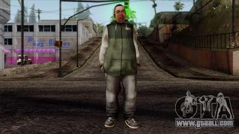 GTA 4 Skin 74 for GTA San Andreas
