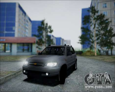 Chevrolet Niva for GTA San Andreas right view