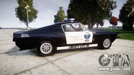 Ford Shelby GT500 Eleanor Police [ELS] for GTA 4
